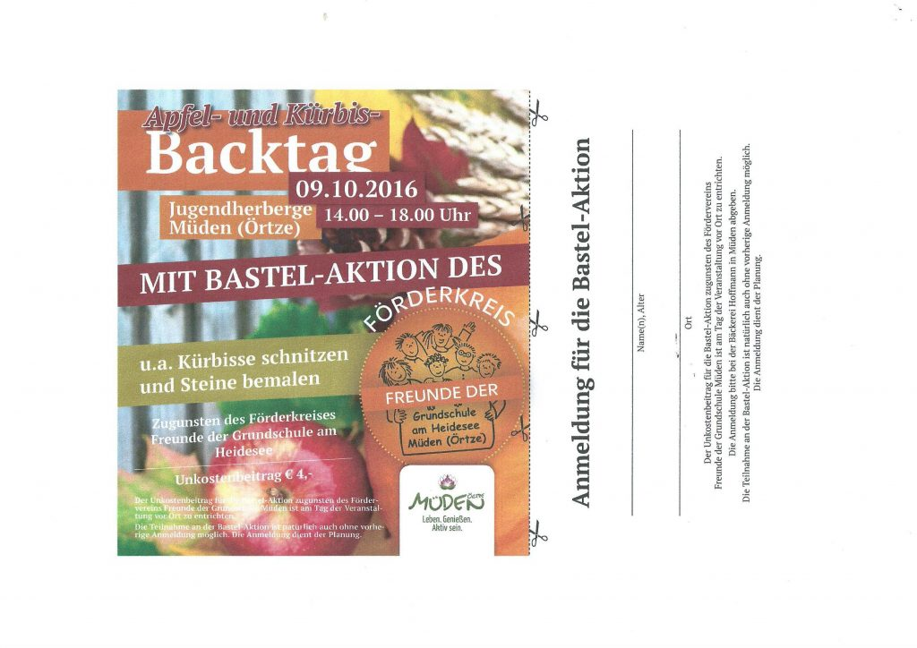 backtag-bastelaktion