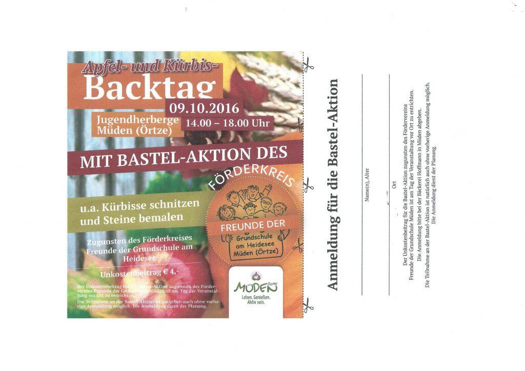 backtag-bastelaktion